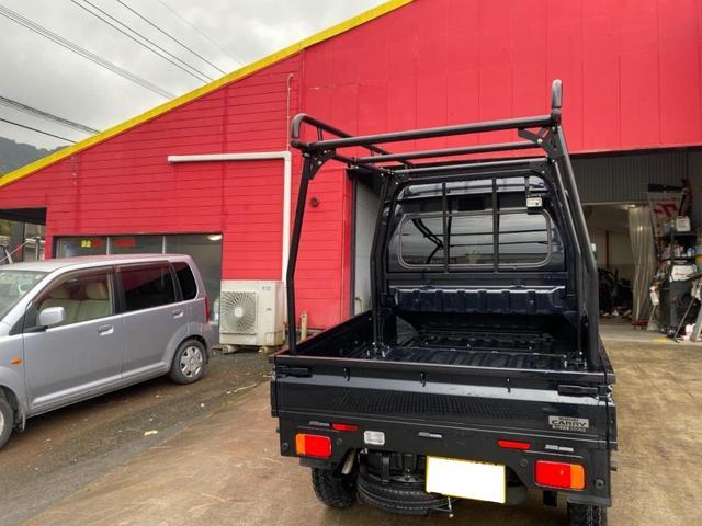 X 社外14inアルミ MTタイヤ 2inリフトアップ ハードカーゴ 4WD(8枚目)