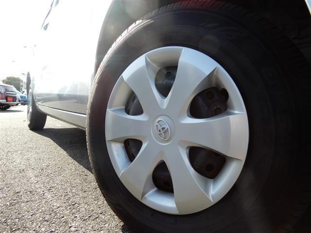 タイヤの溝は当社基準に満たない場合七、八分山のあるタイヤに交換。