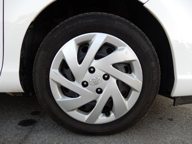 タイヤの溝が無い場合は、中古の7〜8分山のタイヤと交換します!!