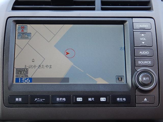ホンダ ストリーム ZS HDDナビパッケージ 純正HDDナビ ワンセグ