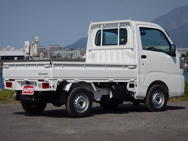 ダイハツ ハイゼットトラック スタンダード 4WD 5速MT 純正ラジオ 三方開