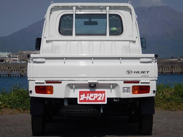 ダイハツ ハイゼットトラック スタンダード 5速MT 4WD 純正ラジオ 三方開