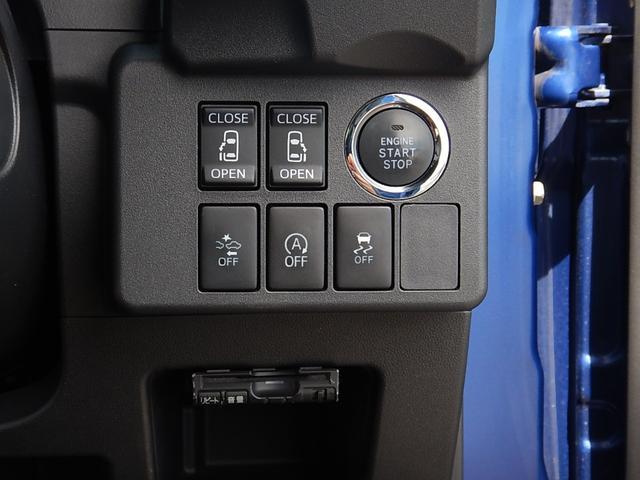両側電動スライドドアスイッチと鍵の抜き差しが要らない便利なプッシュスタート♪スマートアシストとアイドリングストップ、横滑り防止のOFFスイッチ♪下にはETCが付いています♪
