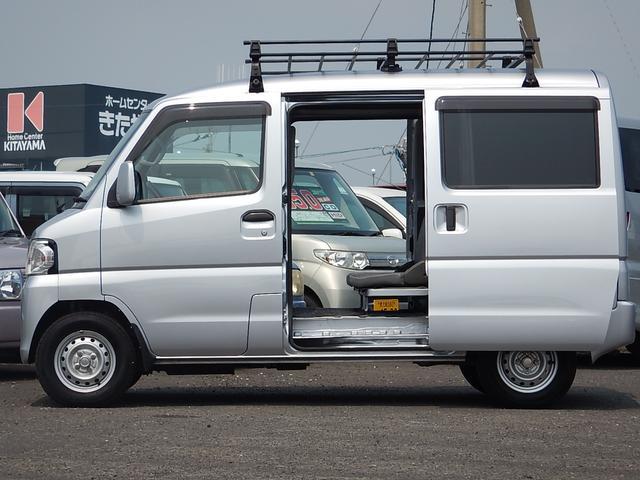 日産 NV100クリッパーバン DXハイルーフ GLパッケージ ルーフキャリア キーレス