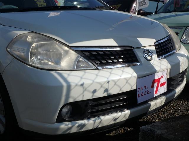 日産 ティーダ 15M ナビ付 インテリジェントキー