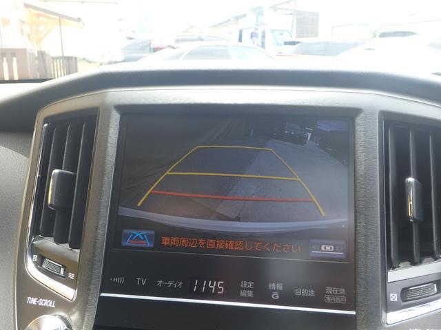 アスリートS 純正HDD8型ワイドナビ 18AW 黒革 SR(8枚目)