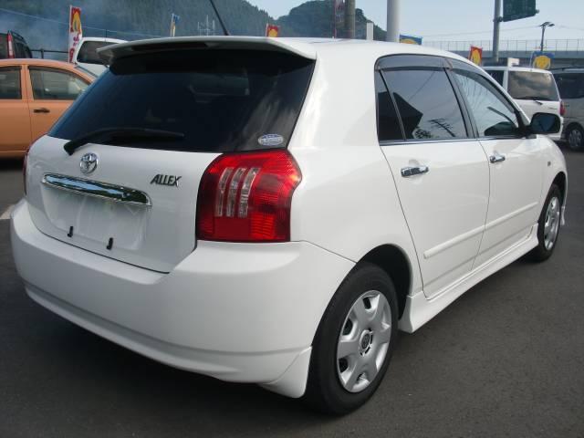 トヨタ アレックス XS150 Sエディション キーレス CD フルエアロ