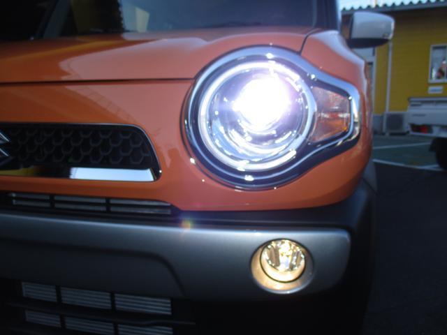 スズキ ハスラー X 届出済未使用車 Sエネチャージ HIDヘッドライト