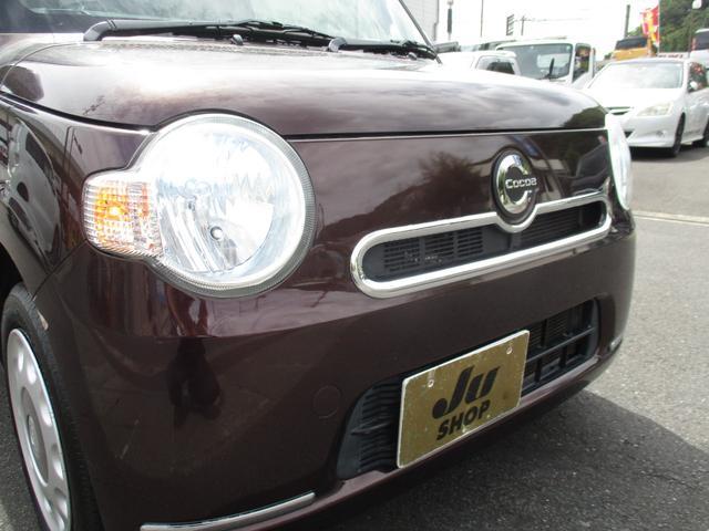 ココアX 車検整備付 スマートキー 純正CDデッキ 社外HIDライト(28枚目)