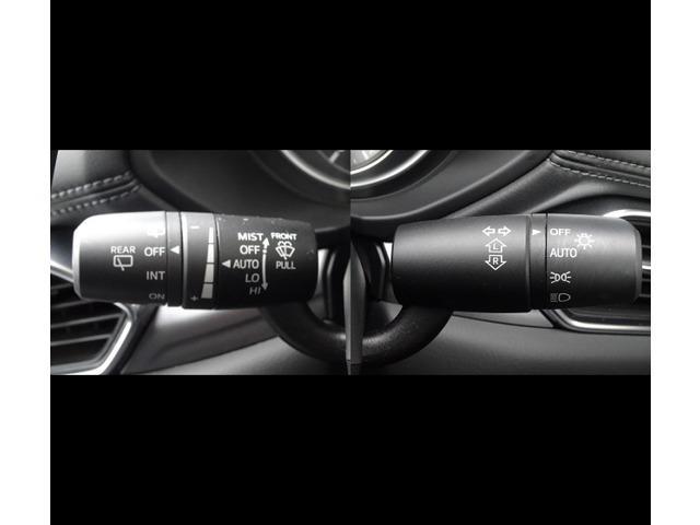 レインセンサーワイパー装備。ワイパーの作動のコントロールを状況に応じて自動的に行い、運転に集中できるようサポートします。