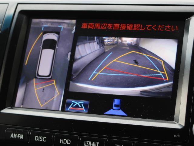 アエラス プレミアム 4WD フルセグ HDDナビ DVD再生 バックカメラ 両側電動スライド HIDヘッドライト 乗車定員7人 3列シート 記録簿(18枚目)