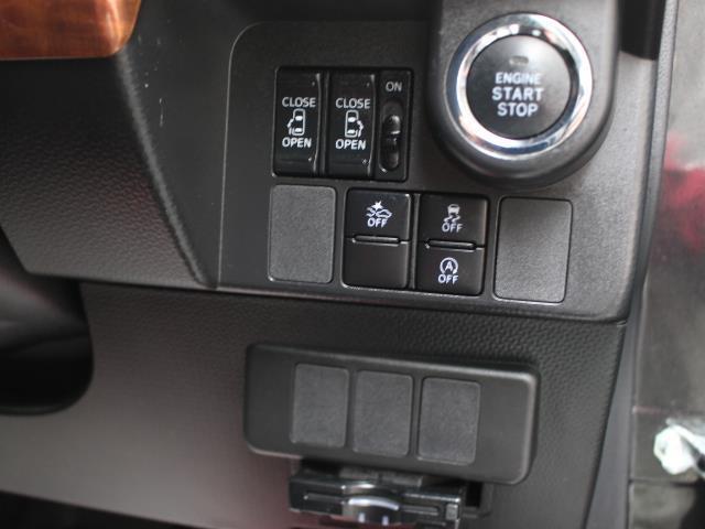 カスタムG S フルセグ メモリーナビ DVD再生 バックカメラ 衝突被害軽減システム 両側電動スライド 記録簿 アイドリングストップ(13枚目)