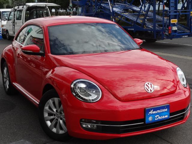 フォルクスワーゲン VW ザ・ビートル デザイン SDナビ フルセグTV HID ETC