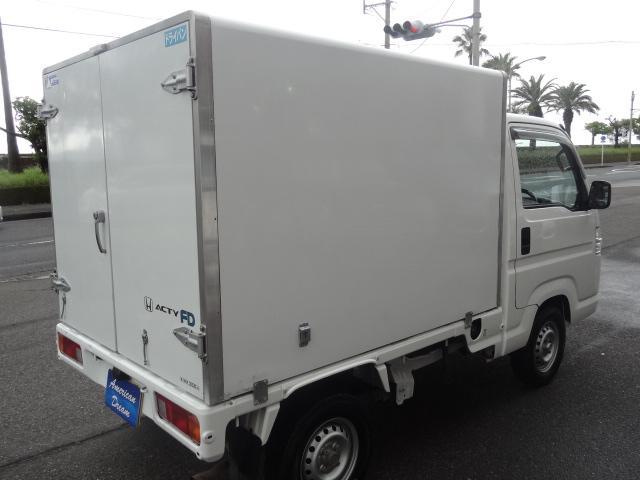 ホンダ アクティトラック 保冷車 エアコン パワステ AT車