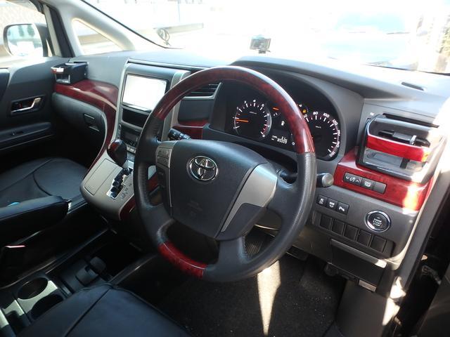 トヨタ アルファード 240S 両側電動スライドドア・ HDDナビ バックカメラ