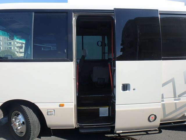日産 シビリアンバス オートステップ カラオケ 冷蔵庫 リクライニングシート