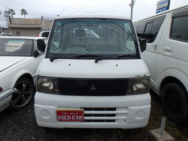 三菱 ミニキャブトラック VX-SE エンジン載替中 4WD 5MT