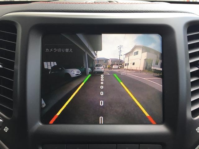 クライスラー・ジープ クライスラージープ チェロキー トレイルホーク保証継承 黒革 サンルーフ 純正ナビ 後カメラ
