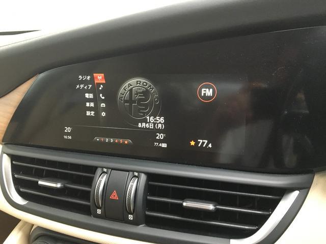 アルファロメオ アルファロメオ ジュリア スーパー レザーシート 18インチAW パドルシフト ETC