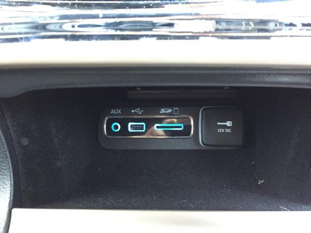 AUX、USB、SDカード端子