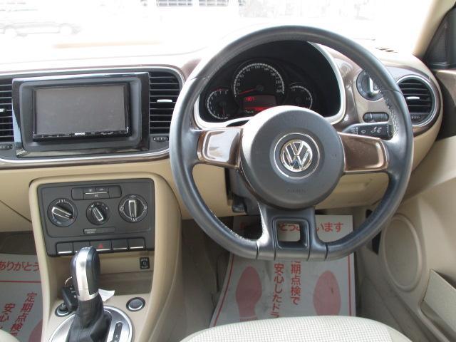 フォルクスワーゲン VW ザ・ビートル オウン ビートル ナビ バックカメラ 禁煙車 グー鑑定車