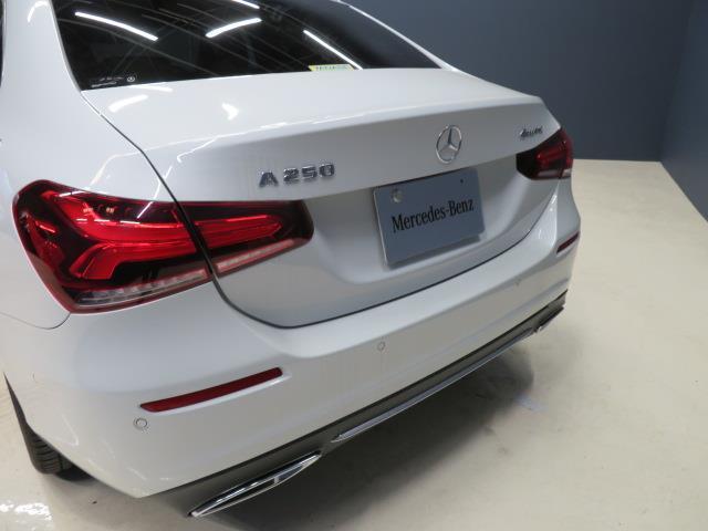 A250 4マチック セダン レーダーセーフティパッケージ ナビゲーションパッケージ 2年保証 新車保証(5枚目)