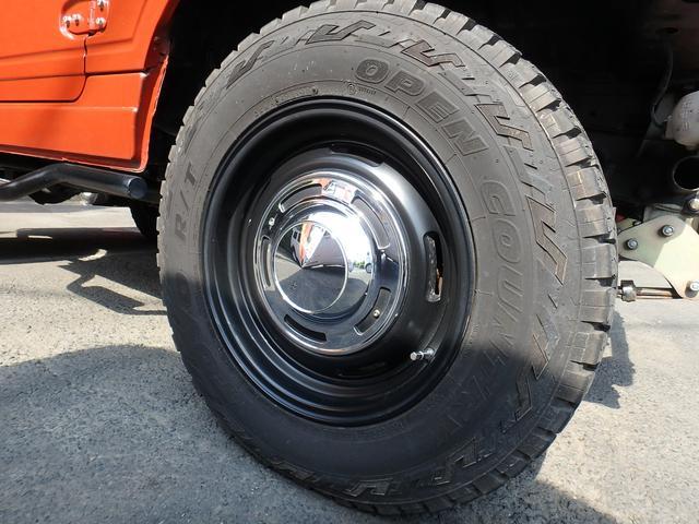 4WD 社外FRバンパー 社外マフラー シートカバー(12枚目)