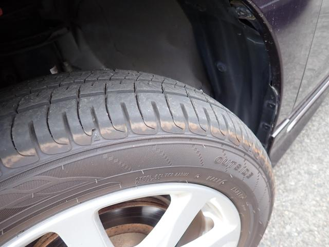 タイヤ溝もまだまだあります!