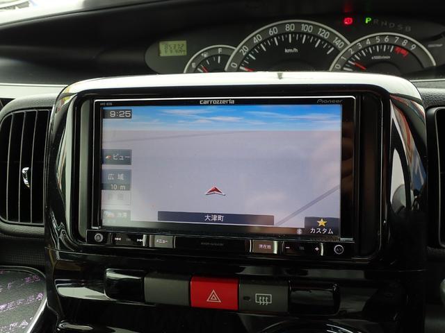カスタムRS ターボ フルエアロ パワースライドドア SDナビTV Bluetooth対応 DVD再生 キーフリーシステム 黒革調シートカバー ETC MOMOハンドル(20枚目)