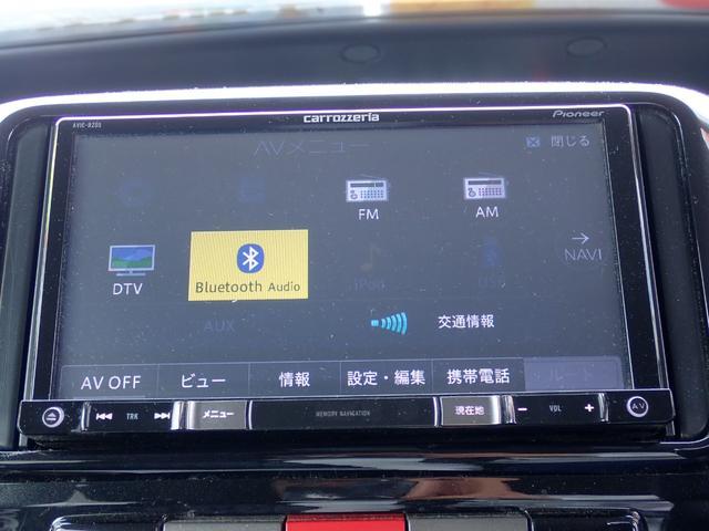 カスタムRS ターボ フルエアロ パワースライドドア SDナビTV Bluetooth対応 DVD再生 キーフリーシステム 黒革調シートカバー ETC MOMOハンドル(22枚目)