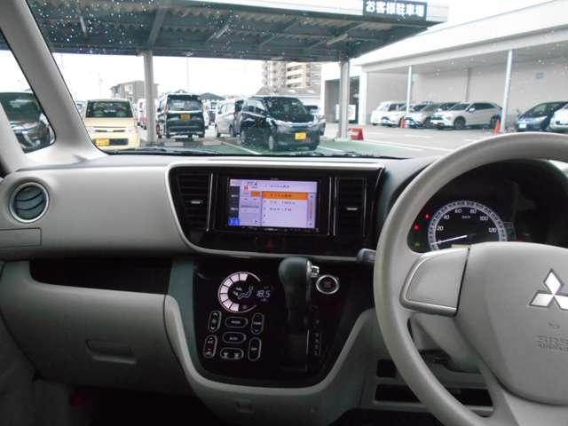 G パワースライドドア ETC Bカメラ ナビ ベンチシート ETC キーフリー ABS 横滑り防止装置 盗難防止システム オートエアコン スマートキー付き メモリーナビ付 I-STOP(2枚目)