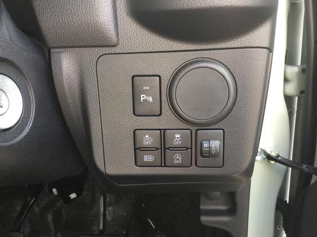 各種スイッチは運転席前側に配置