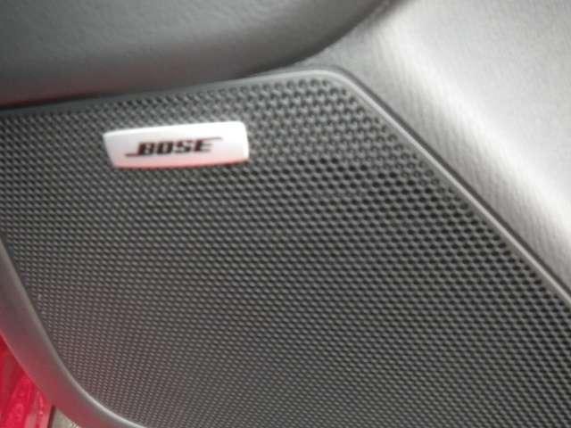BOSEの10スピーカーシステムです。CX-5に合ったスピーカーレイアウトと決めこまやかなチューニングにより包まれるような心地よいサウンドが楽しめます。