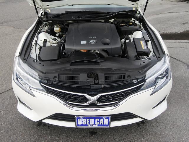 トヨタ マークX 250G ナビフルTV後カメラ ETC 電動シート HID