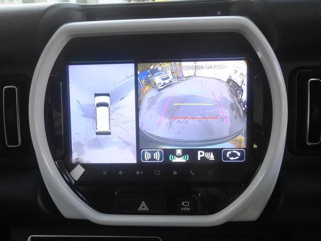 ハイブリッドX 届出済未使用車 純正9インチナビフルセグTV全周囲カメラ DVD ブルートゥース 衝突軽減ブレーキ オートLEDライト 純正アルミ(12枚目)