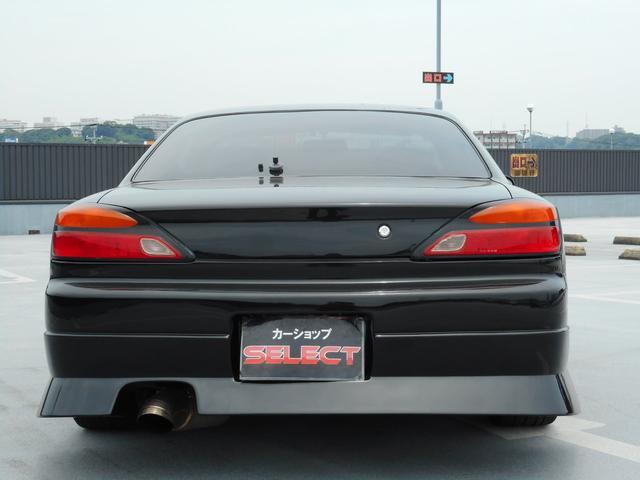 スペックR 前置きIC 車高調 社外マフラー(5枚目)