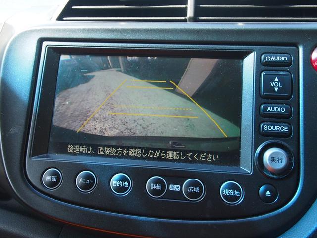 ホンダ フィット RS HDDナビ Bカメラ パドルシフト エアロ 15AW