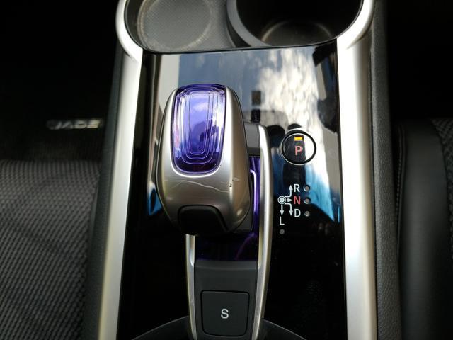 ハイブリッドX 衝突軽減 車線維持 前方誤発進抑制 先行者発進お知らせ 標識検知 SDナビ フルセグTV DVD Bカメラ ETC ハーフレザーシート 6人乗 EGプッシュ スマートキー モデューロ18AW LED(11枚目)