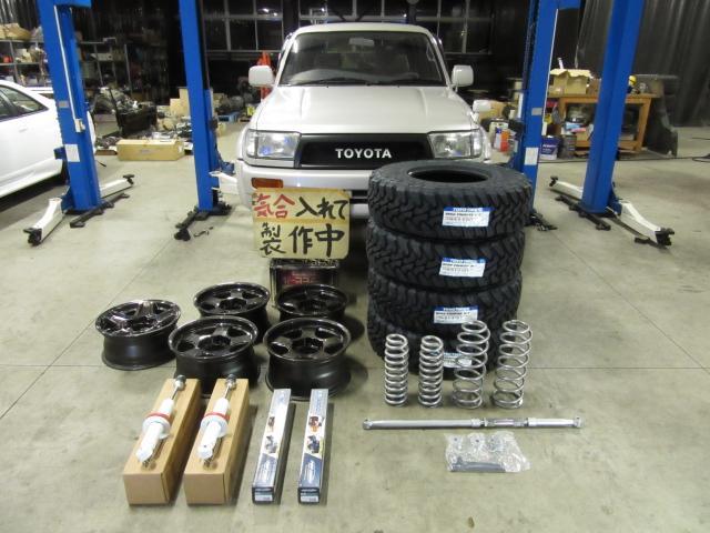 Dターボ4WD 新品リフトUP製作車 1オーナー禁煙(14枚目)