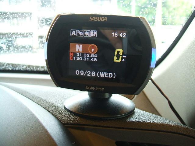 安全運転レーダー付き!