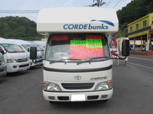 トヨタ カムロード バンテック社製CORDbunks FFヒーター キャンピング