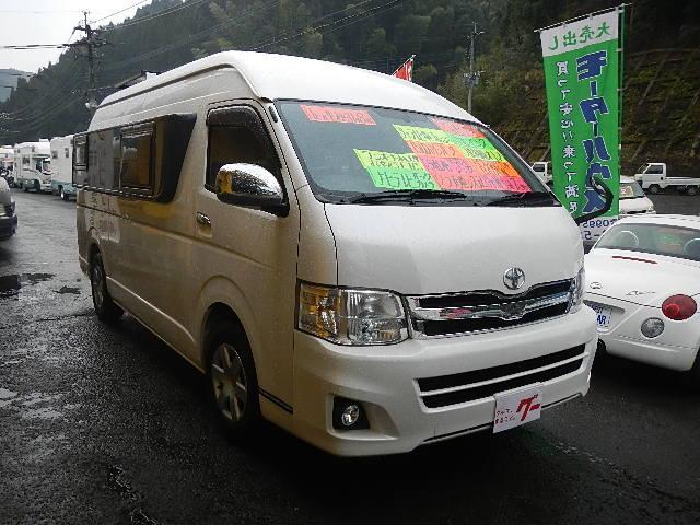 トヨタ ハイエースバン キャンピング トイファクトリー社製BADEN ワンオーナー