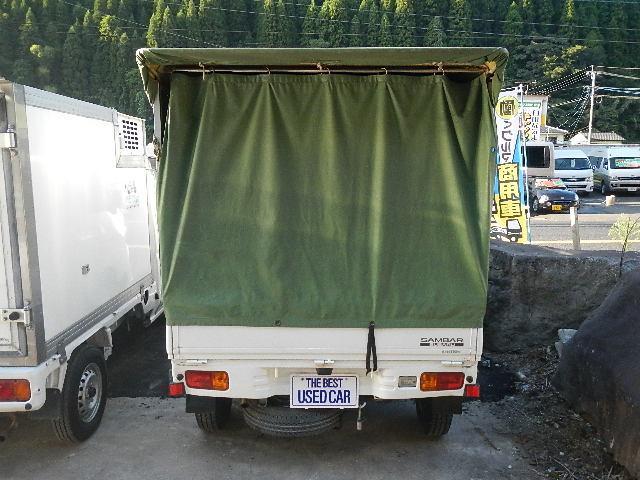 スバル サンバートラック TB 幌 キーレス CDデッキ ETC 5速ミッション