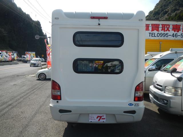 キャンピング AtoZ社製アミティー リヤ2段ベッド 冷蔵庫(9枚目)