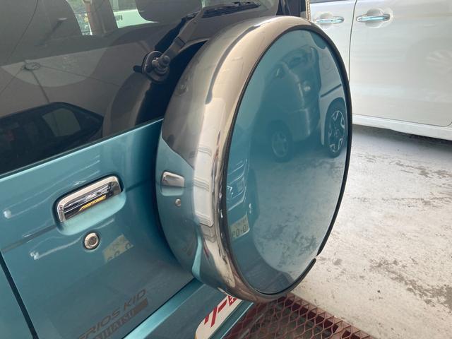 カスタムX HDDナビ ワンセグ リアスポイラー ETC 背面タイヤ ハートカバー(22枚目)