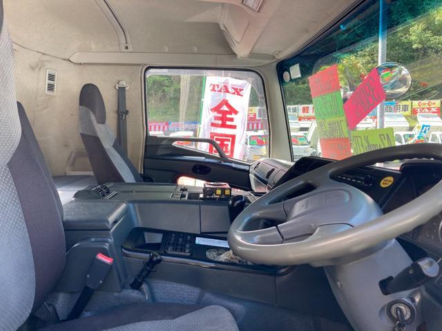 ベースグレード 10tダンプ フル装備 7速マニュアル車 電動コボレーン ETC(24枚目)