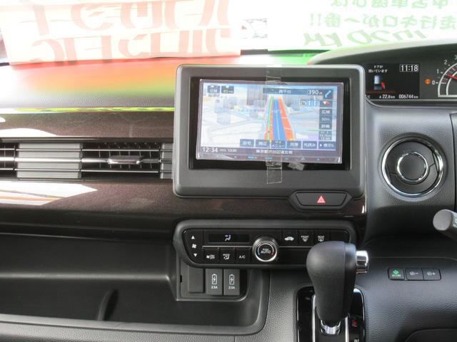 G・Lターボホンダセンシング 衝突軽減 両側電動スライド ハーフレザーシート SDナビフルセグ バックカメラ LEDライト ツートンカラースタイル ETC オートハイビームライト 純正エアロ 禁煙車(11枚目)