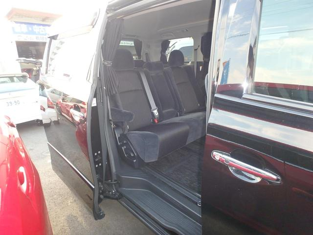 トヨタ ヴェルファイア 2.4Z HDDナビフルセグ 両側パワスラ 車高調 19AW