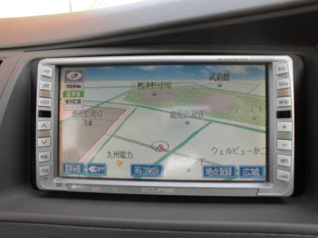 トヨタ アイシス L Gエディション 社外DVDナビ バックモニター
