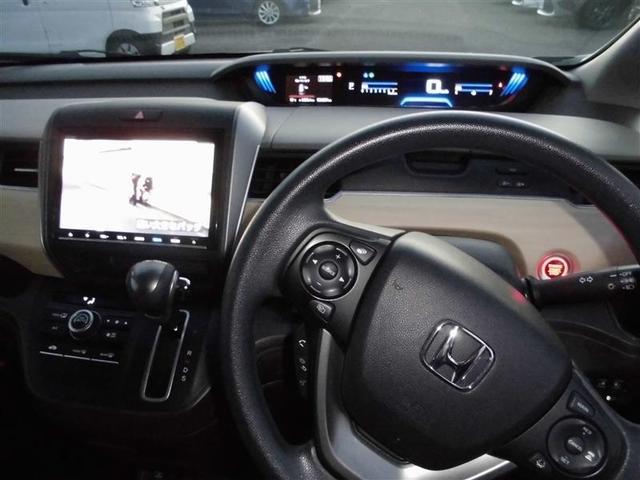 G・ホンダセンシング ワンオーナー車 メモリーナビフルセグTV スマートキー 両側スライドドア オートエアコン 6人乗り(5枚目)